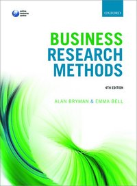 bokomslag Business Research Methods