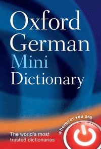bokomslag Oxford german mini dictionary
