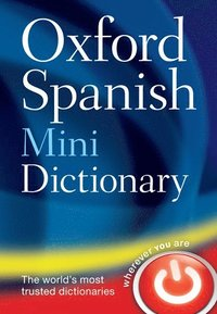 bokomslag Oxford spanish mini dictionary