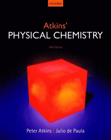 bokomslag Atkins physical chemistry