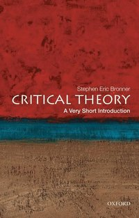 bokomslag Critical theory: a very short introduction