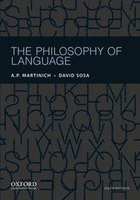 bokomslag The Philosophy of Language