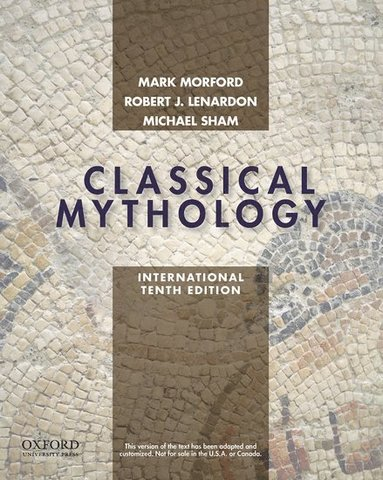 bokomslag Classical Mythology, International Edition