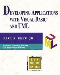 bokomslag Developing Applications with Visual Basic and UML