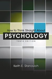 bokomslag How to Think Straight about Psychology