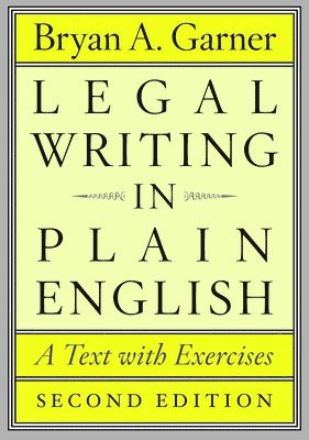 bokomslag Legal writing in plain english - a text with exercises