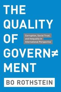 bokomslag The Quality of Government