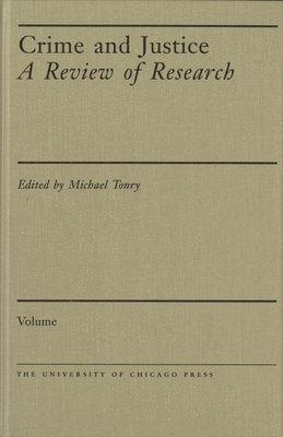 bokomslag Crime and Justice, Volume 33