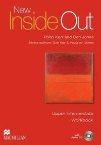 bokomslag New Inside Out Upper-Intermediate Workbook Pack without Key Edition
