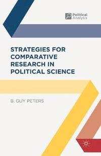 bokomslag Strategies for Comparative Research in Political Science