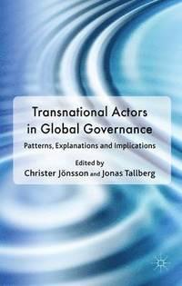 bokomslag Transnational Actors in Global Governance