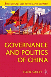 bokomslag Governance and Politics of China