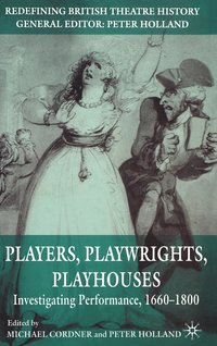 bokomslag Players, Playwrights, Playhouses