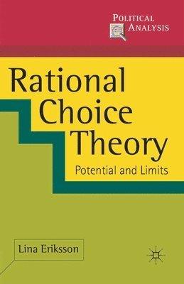 bokomslag Rational Choice Theory