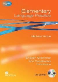 bokomslag Language Practice Elementary Student's Book -key Pack 3rd Edition
