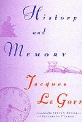 bokomslag History and Memory