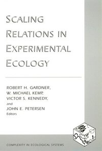 bokomslag Scaling Relations in Experimental Ecology