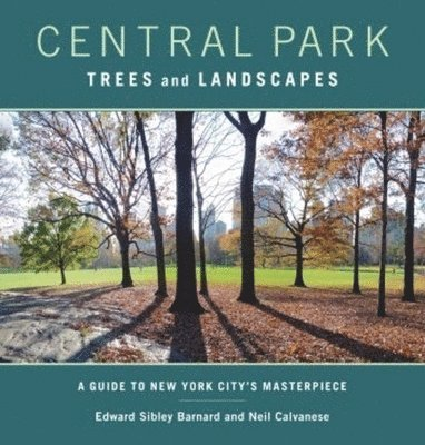 bokomslag Central Park Trees and Landscapes: A Guide to New York City's Masterpiece