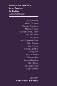 bokomslag Philosophers on Film from Bergson to Badiou