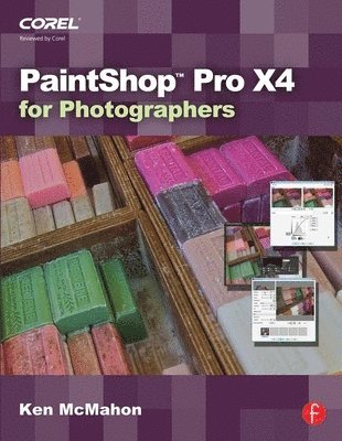 bokomslag PaintShop Pro X4 for Photographers