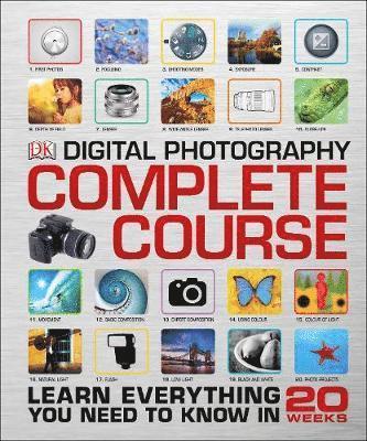 bokomslag Digital photography complete course