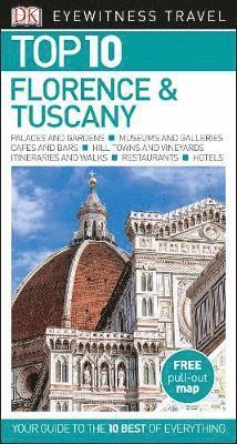 bokomslag Florence & Tuscany Top 10