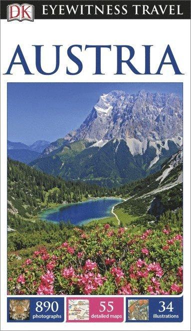 bokomslag DK Eyewitness Travel Guide Austria