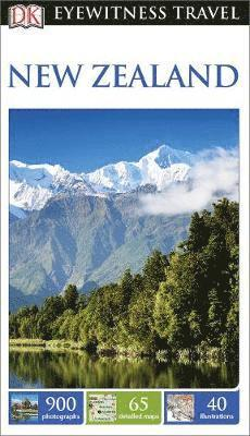 bokomslag DK Eyewitness Travel Guide New Zealand