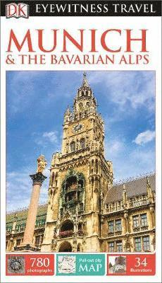 bokomslag DK Eyewitness Travel Guide Munich and the Bavarian Alps