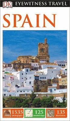 bokomslag DK Eyewitness Travel Guide Spain