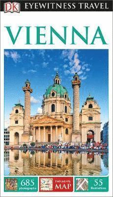 bokomslag DK Eyewitness Travel Guide Vienna