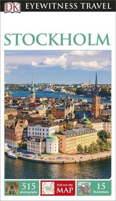 bokomslag DK Eyewitness Travel Guide Stockholm
