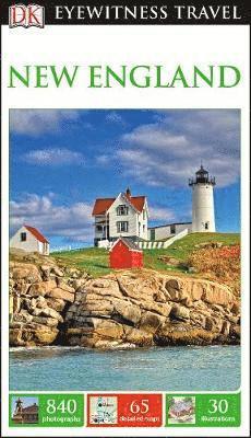 bokomslag DK Eyewitness Travel Guide New England