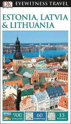bokomslag Estonia, Latvia & Lithuania