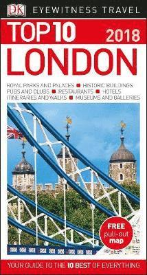 bokomslag DK Eyewitness Top 10 London