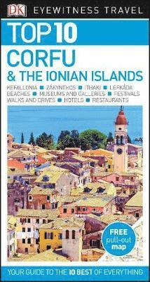 bokomslag Corfu and the Ionian Islands Top 10