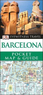 bokomslag Barcelona Pocket Map and Guide