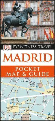 bokomslag Madrid Pocket Map and Guide