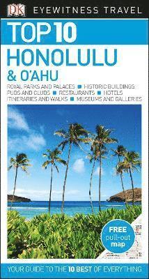 bokomslag Honolulu and O'ahu Top 10