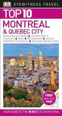 bokomslag Montreal and Quebec City - Top 10