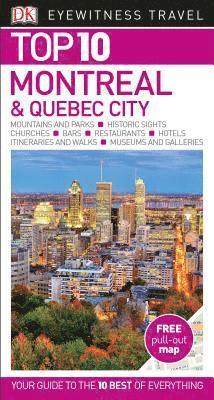 bokomslag Montreal and Quebec City - Top 10