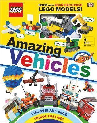 bokomslag LEGO Amazing Vehicles