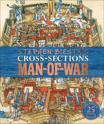 bokomslag Stephen Biesty's Cross-Sections Man-of-War