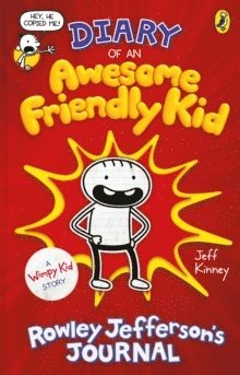 bokomslag Diary of an Awesome Friendly Kid: Rowley Jefferson's Journal