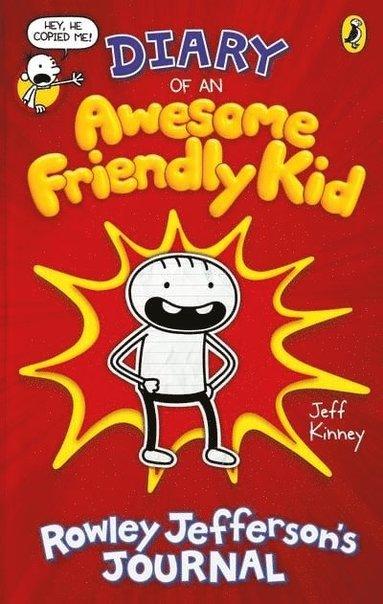 bokomslag Diary of an Awesome Friendly Kid: Rowley Jefferson's Journal