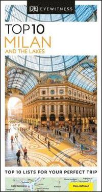 bokomslag DK Eyewitness Top 10 Milan and the Lakes