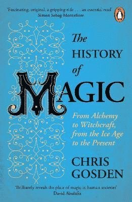bokomslag The History of Magic: From Alchemy to Witchcraft, from the Ice Age to the Present