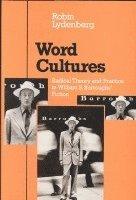 bokomslag Word Cultures