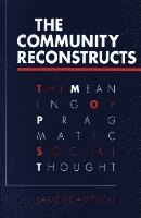 bokomslag COMMUNITY RECONSTRUCTS