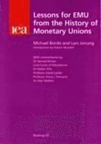 bokomslag Lessons for EMU from the History of Monetary Unions